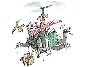 QuentinBlakeFlying